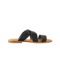 black womens vegan sandals