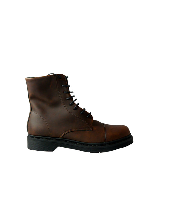 vegan doctor brown boots