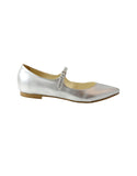 silver slip ons vegan shoes