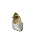 silver microfibre shoes BellaStoria