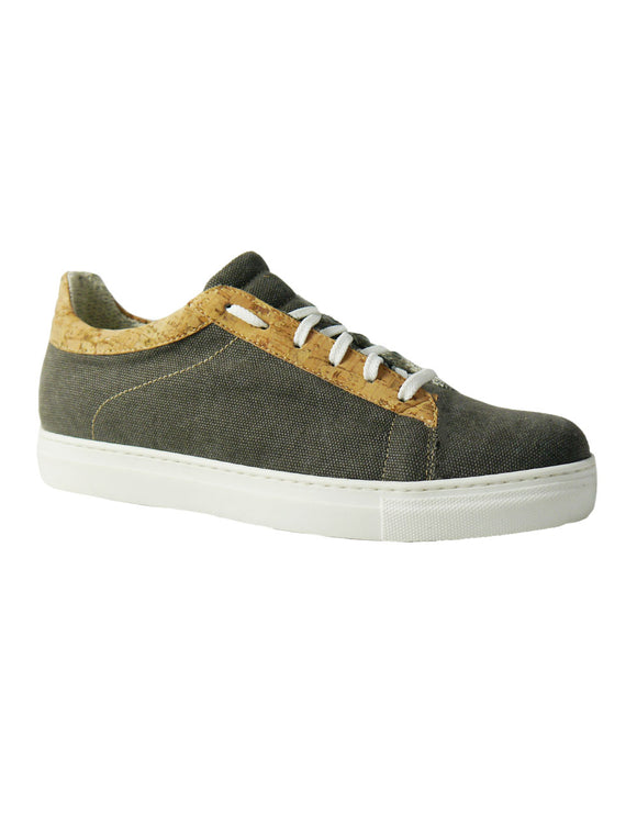 brown canvas hemp shoes BellaStoria