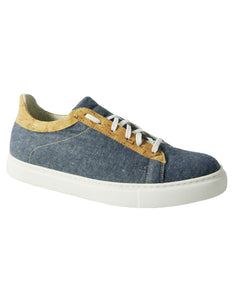 recycled hemp denim vegan sneakers