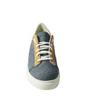 blue denim vegan shoes BellaStoria