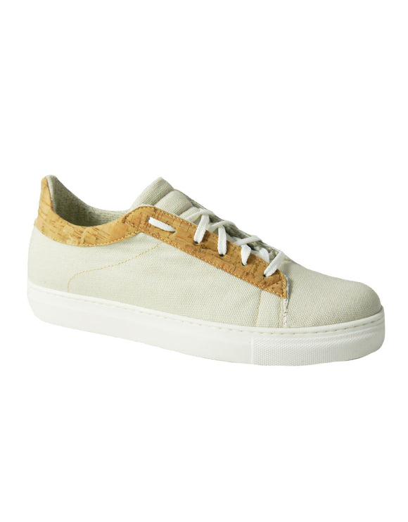 Hemp natural canvas vegan sneakers
