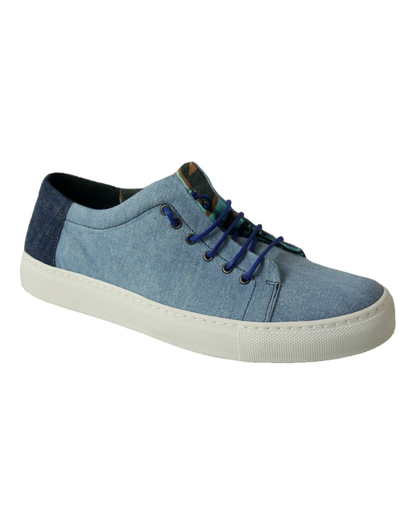 vegan shoes in recycled denim BellaStoria
