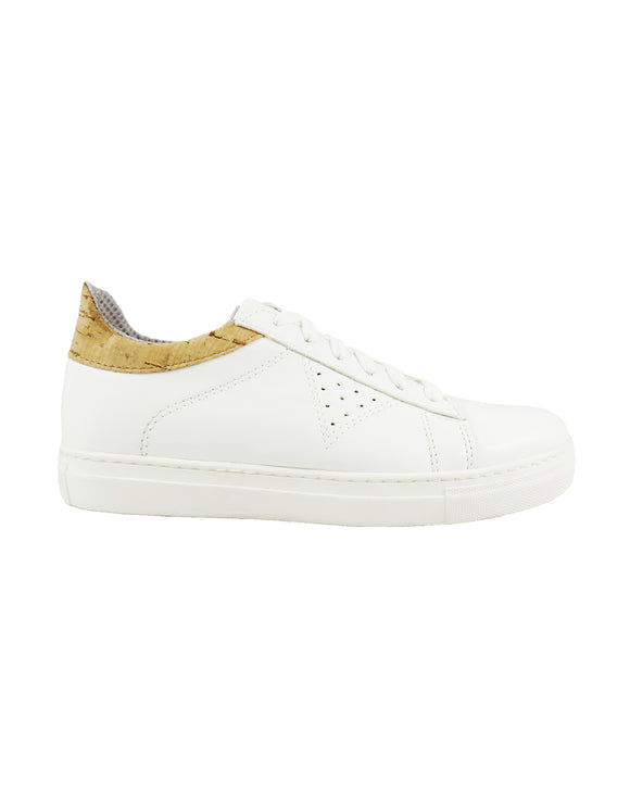 Mila Vegan Sneaker White&Cork 2017 - outlet
