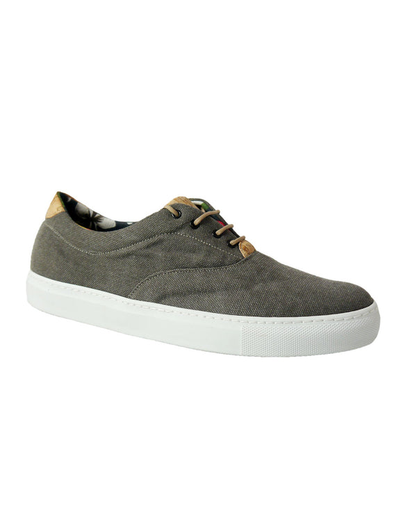 hemp brown vegan sneakers BellaStoria