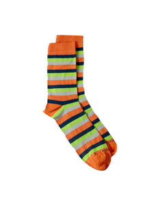 stripes multicolor bamboo socks