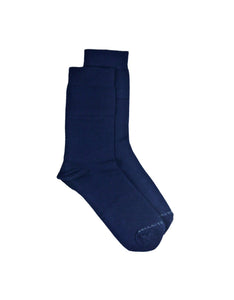 Bamboo MidCalf Socks - BLUE