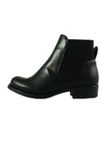ecological microfibre black boots