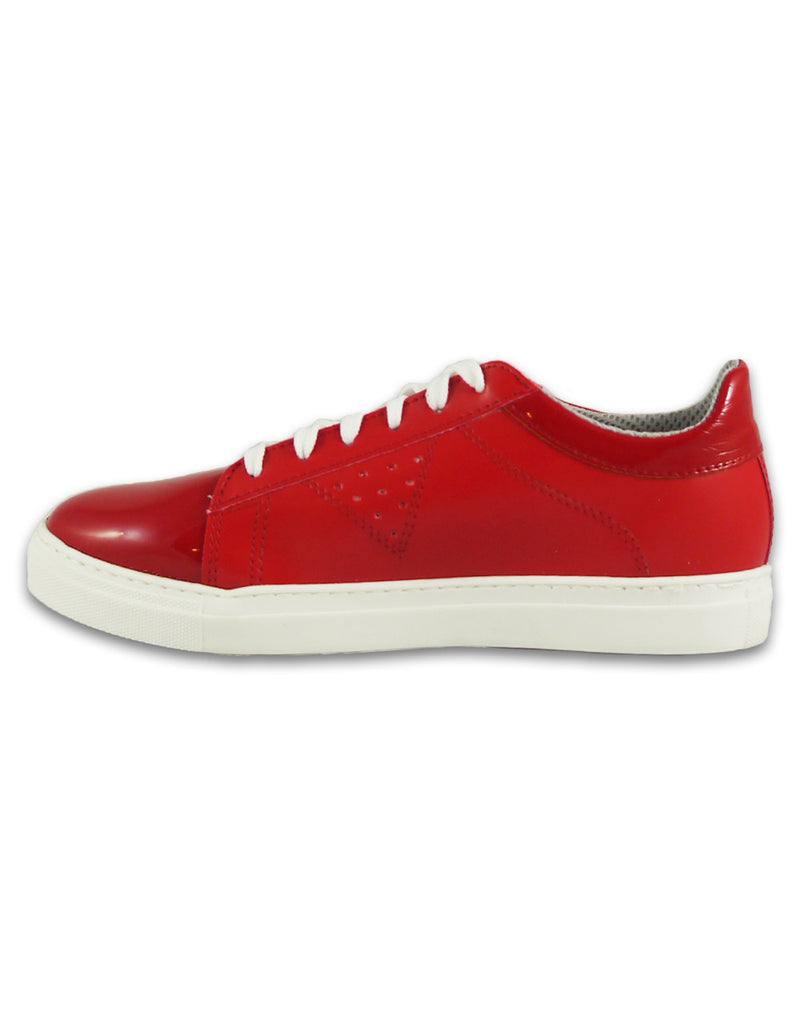 womens vegan red sneakers bellastoria