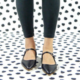 Dolly flat mary jane black - outlet