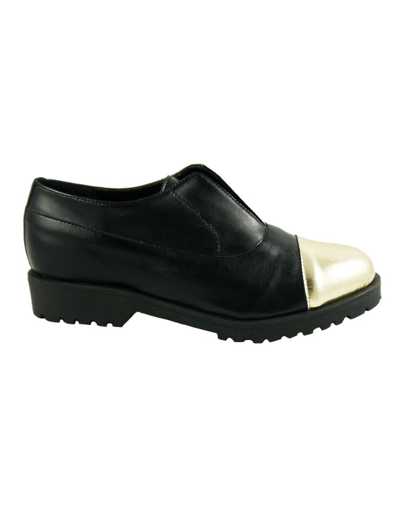 ludo black platinum vegan shoes