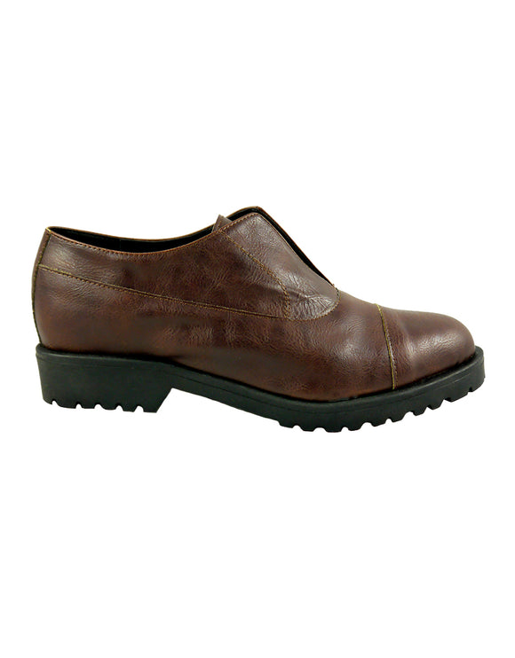 Brown vegan shoes BellaStoria