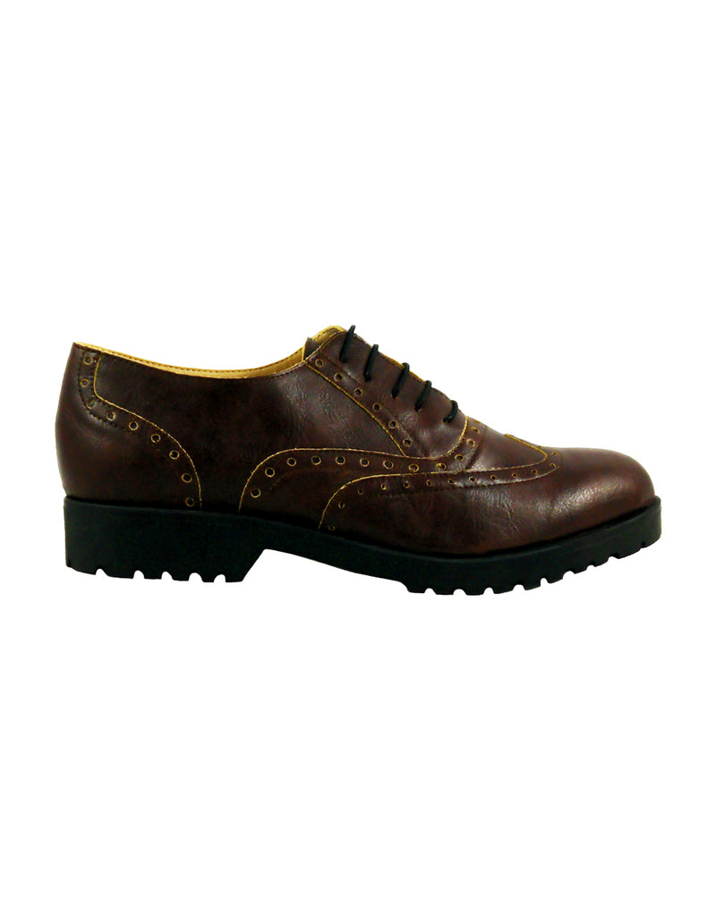 brown vegan woman shoes