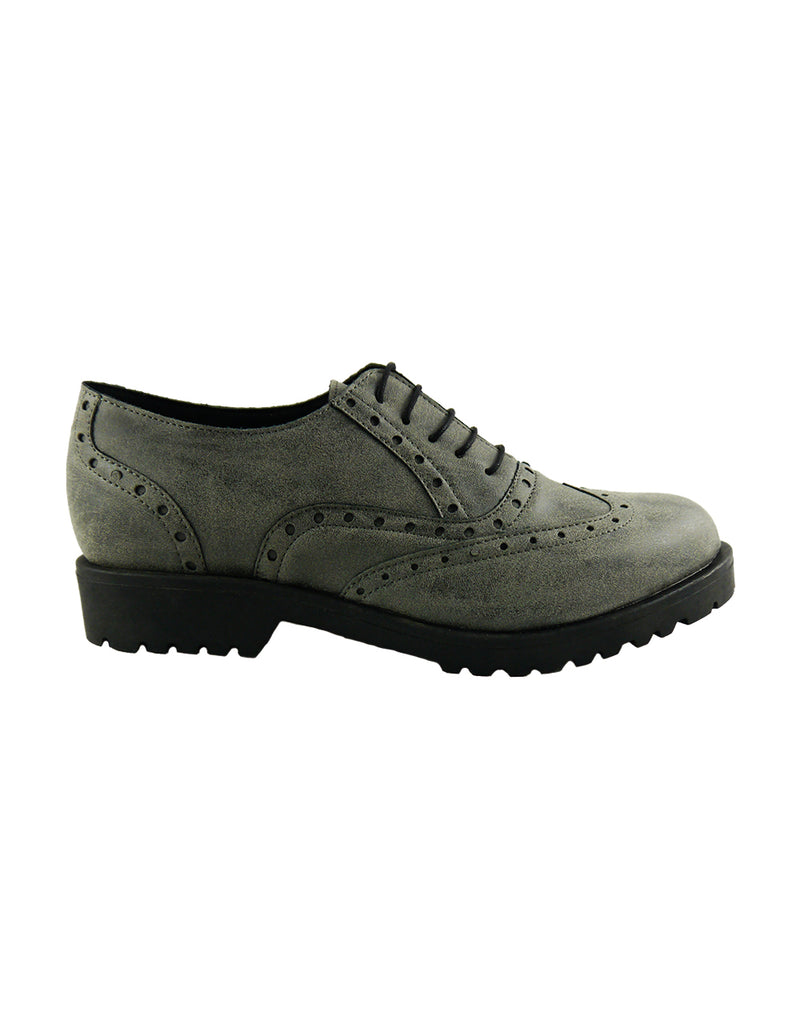 mati grey vintage vegan shoes