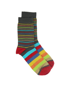 Bamboo MidCalf Socks - MULTICOLOR