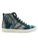 canvas leaf vegan sneakers