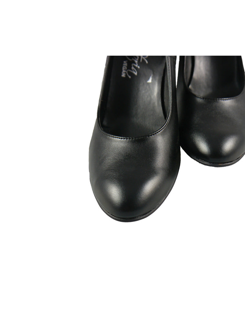 womens black shoes vegan bellastoria