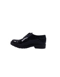 scarpa vegana in vernice nera bellastoria vegan shoes