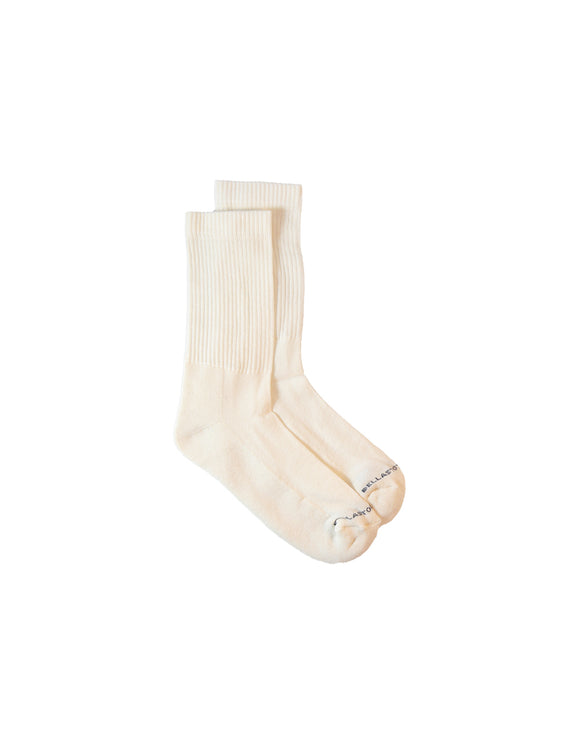 sponge bamboo socks white natural vegan