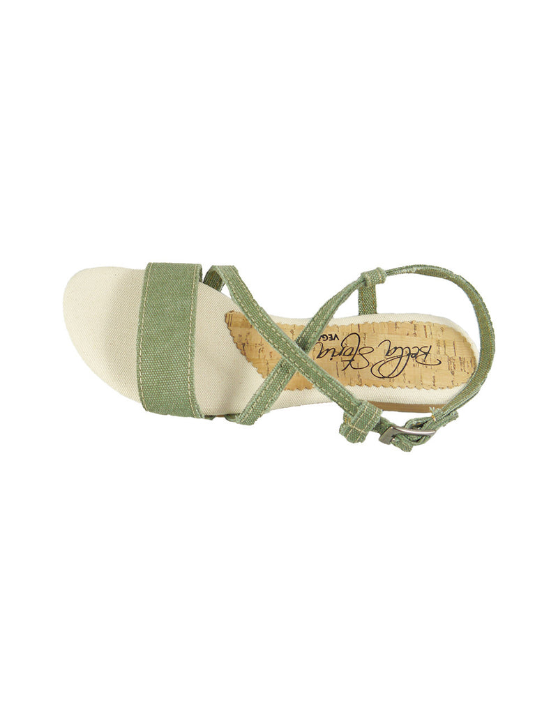 hemp vegan sandal womens bellastoria
