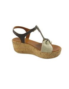wedge vegan sandal