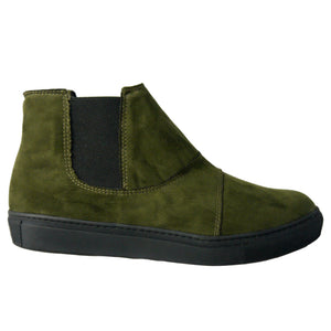 Vitto men's Chelsea sneakers green olive