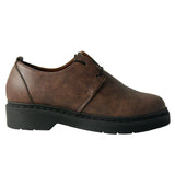 Doctor low derby brown microfibre - outlet