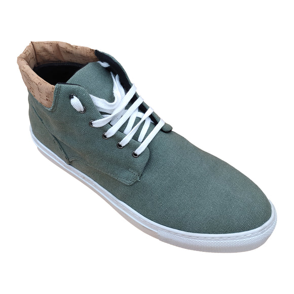 Leo Sneakers - Hemp GREEN - OUTLET