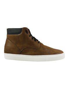 Mens Brown Vegan boots sneakers