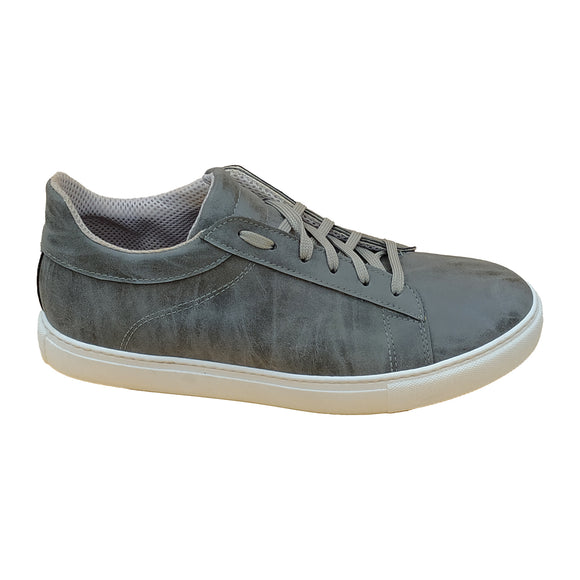 Milo Grey Vintage Sneaker - Ecological Microfibre - OUTLET