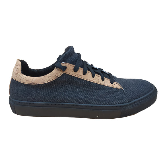 Milo Sneaker - Hemp BLACK- outlet