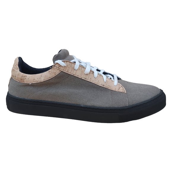 Milo Sneaker - Hemp Brown SUOLA NERA- outlet