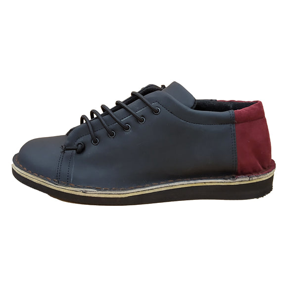 Olaf sneakers - NERO BORDEAUX - outlet