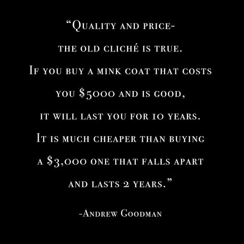 andrew goodman quality quote