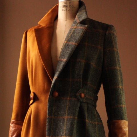 Designer Women's Jacket Tweed