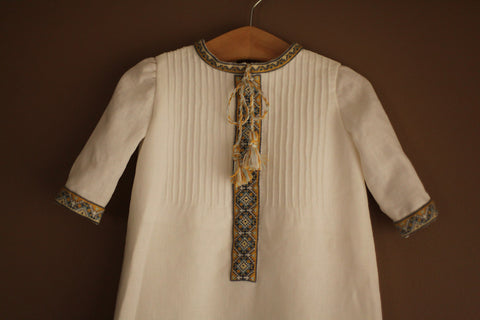 Traditional Heirloom Baptismal Gown