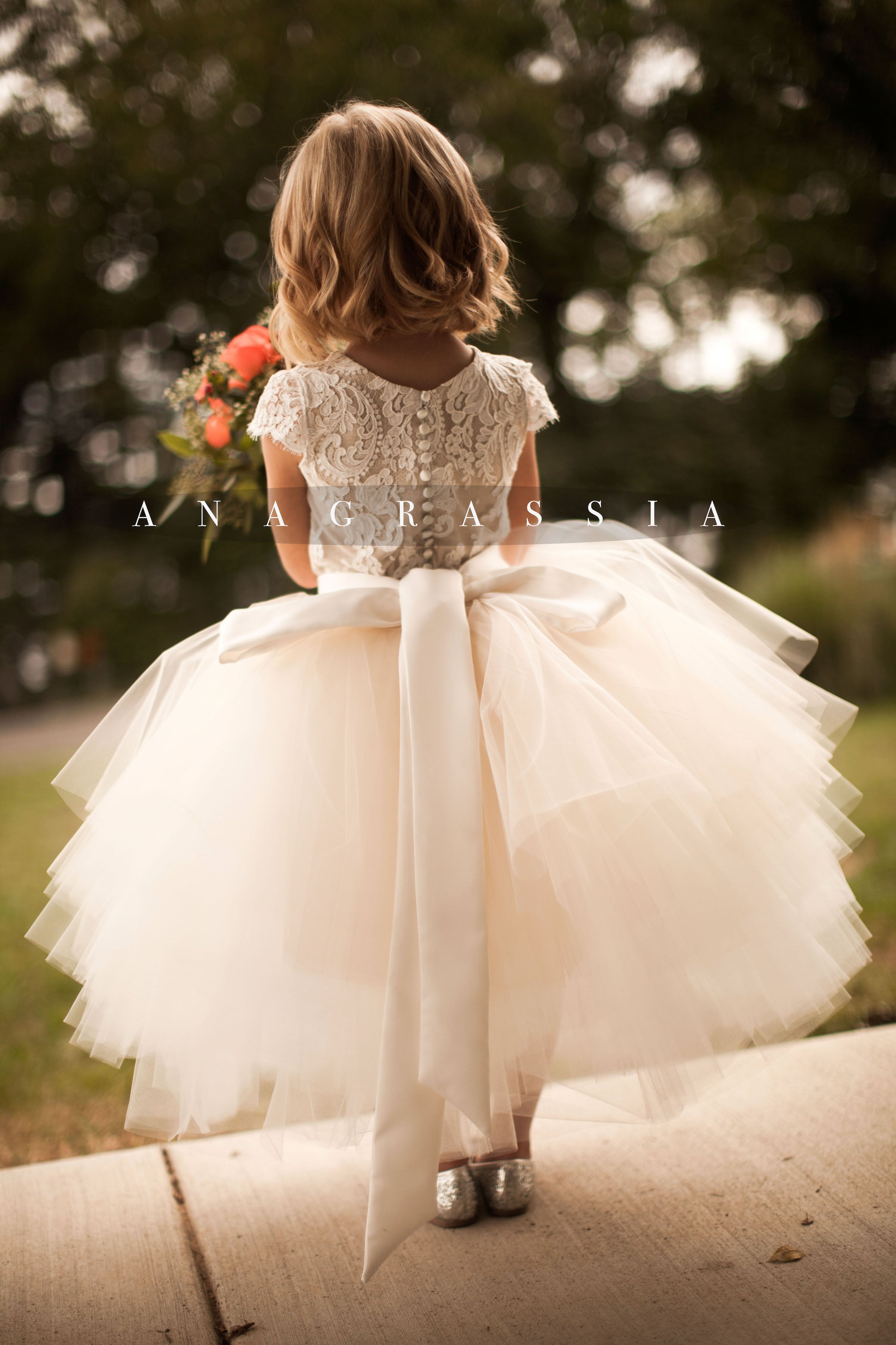 Flower Girl Tulle Skirt