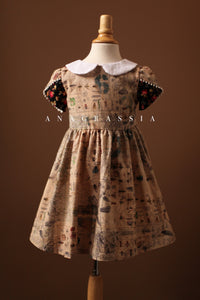 girls dress insect Bergdorf Goodman