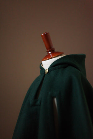 Dark Green Kids Cape