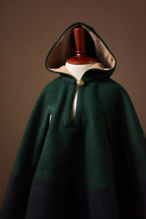Irish Wool Cape