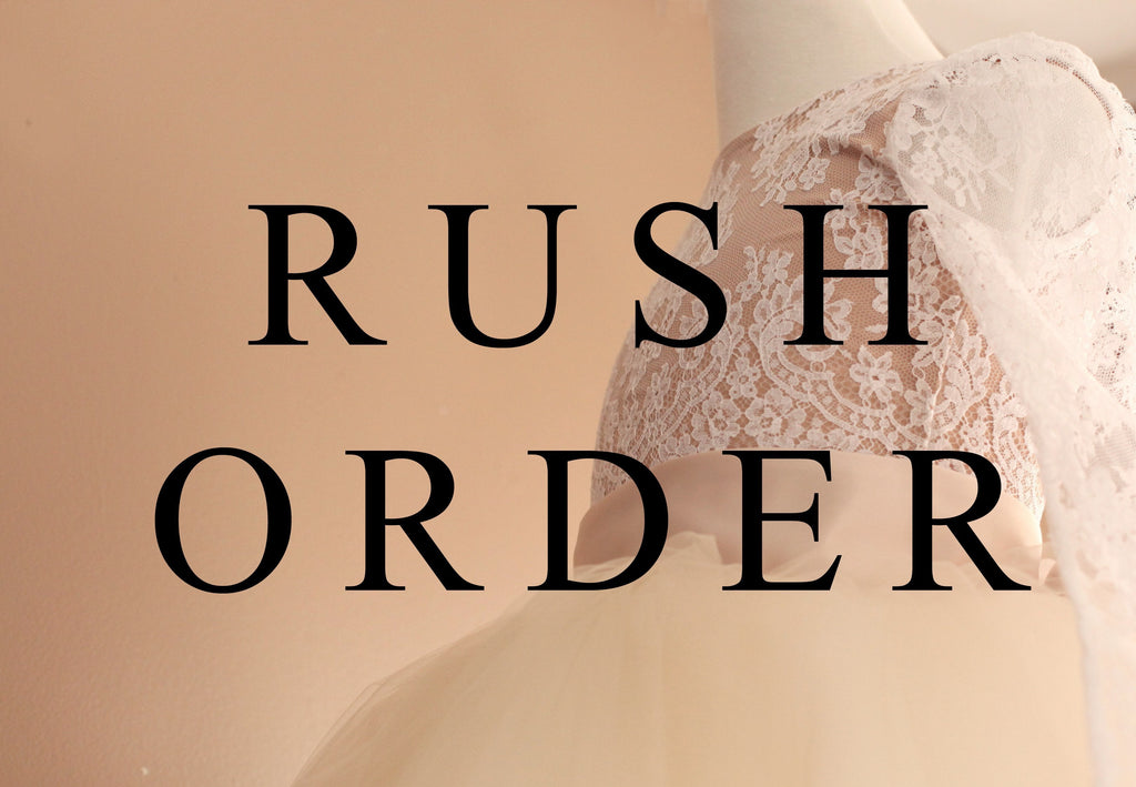 3-4 Week Rush Order Add-On