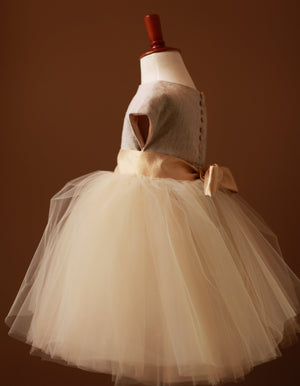 Flower girl dress custom made dressmaker