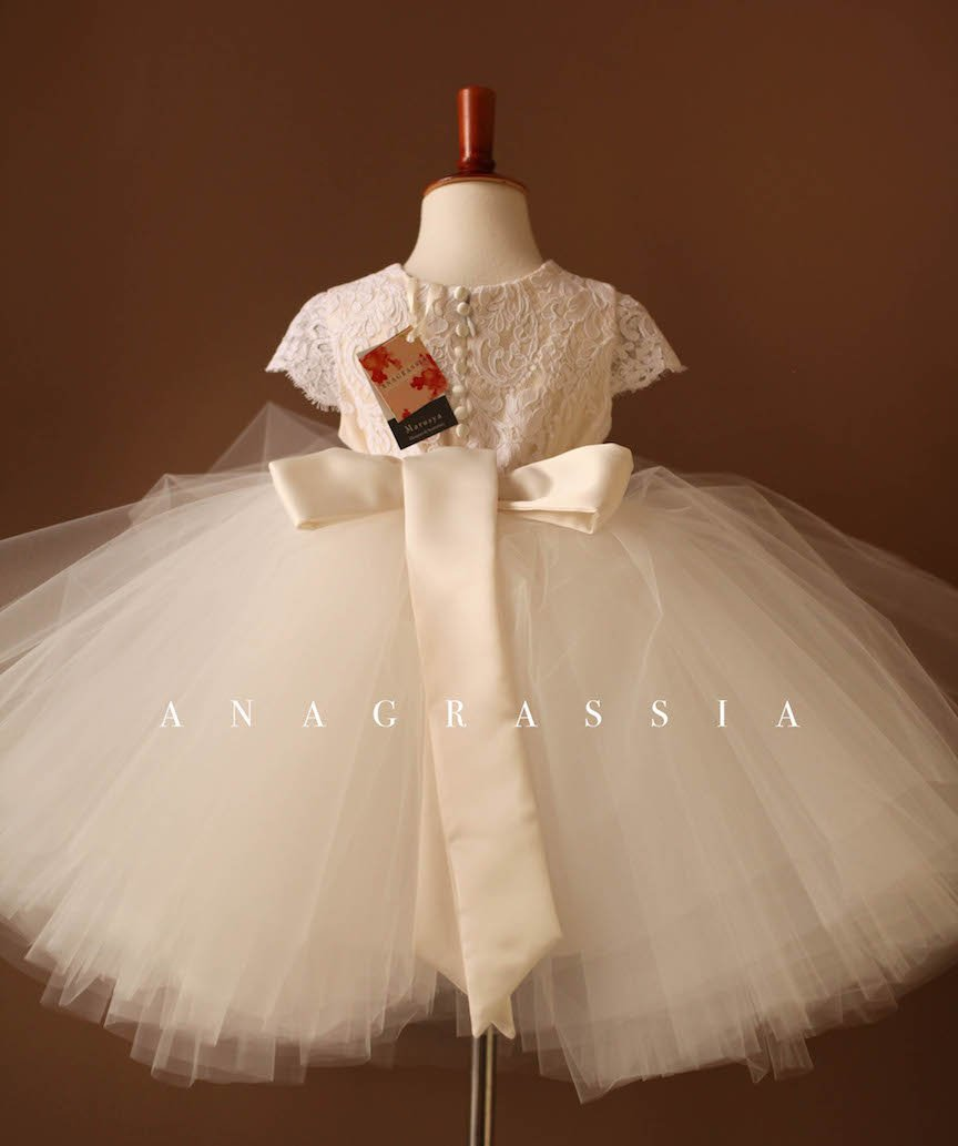 tulle lace tutu flower girl dress best