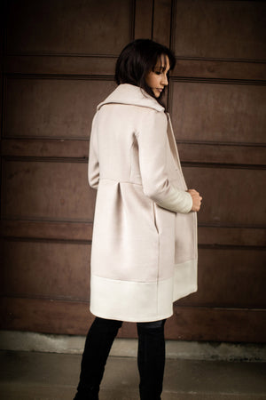 wedding wool coat