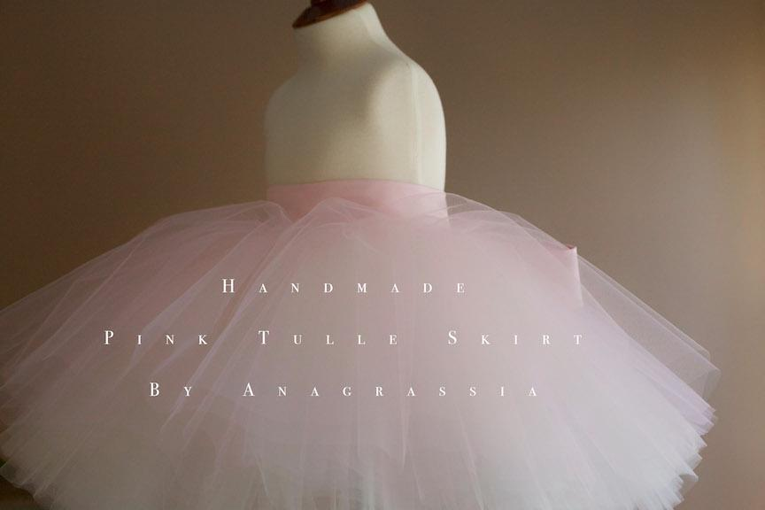pink tutu flower girl dress