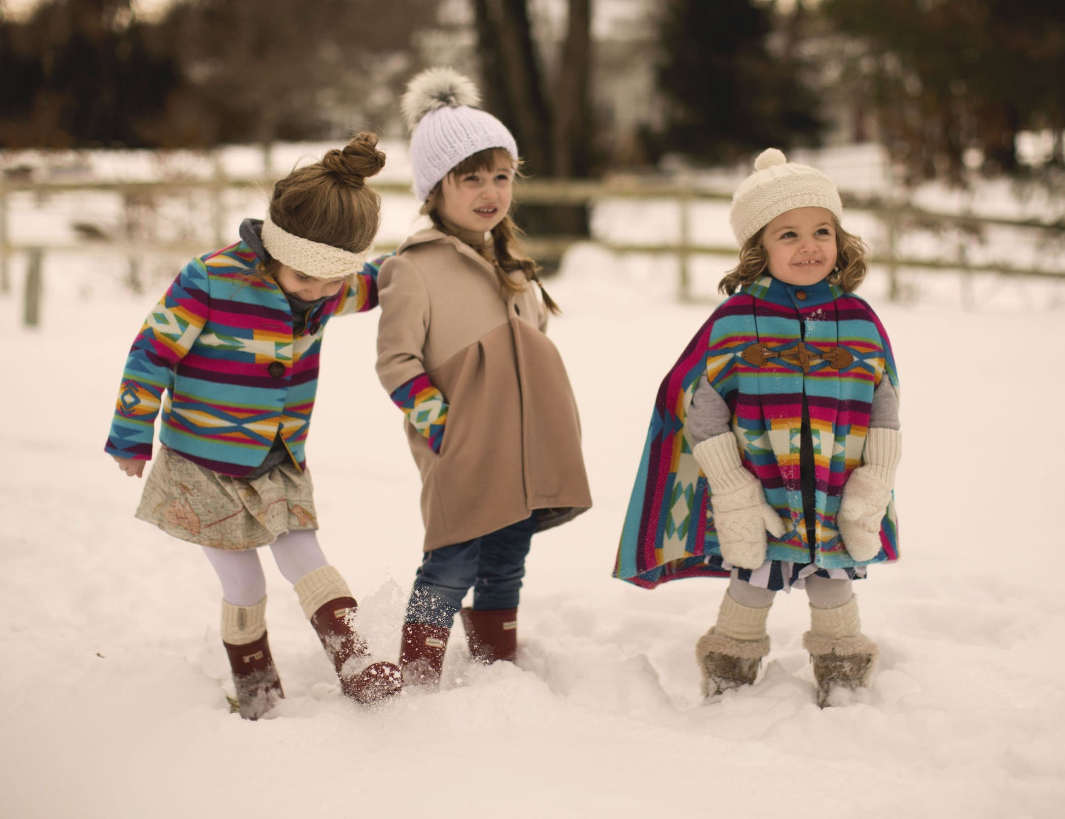 burberry kids coats wool rainbow