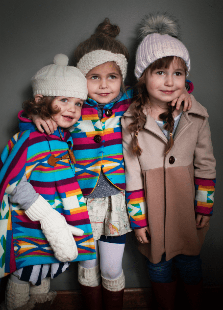 rainbow, colorful, ski, coat, wool, cape, western, aztec, leather, southwest, american, gucci, childrenswear, moncler, balmain, burberry, canada goose, dolce gabbana