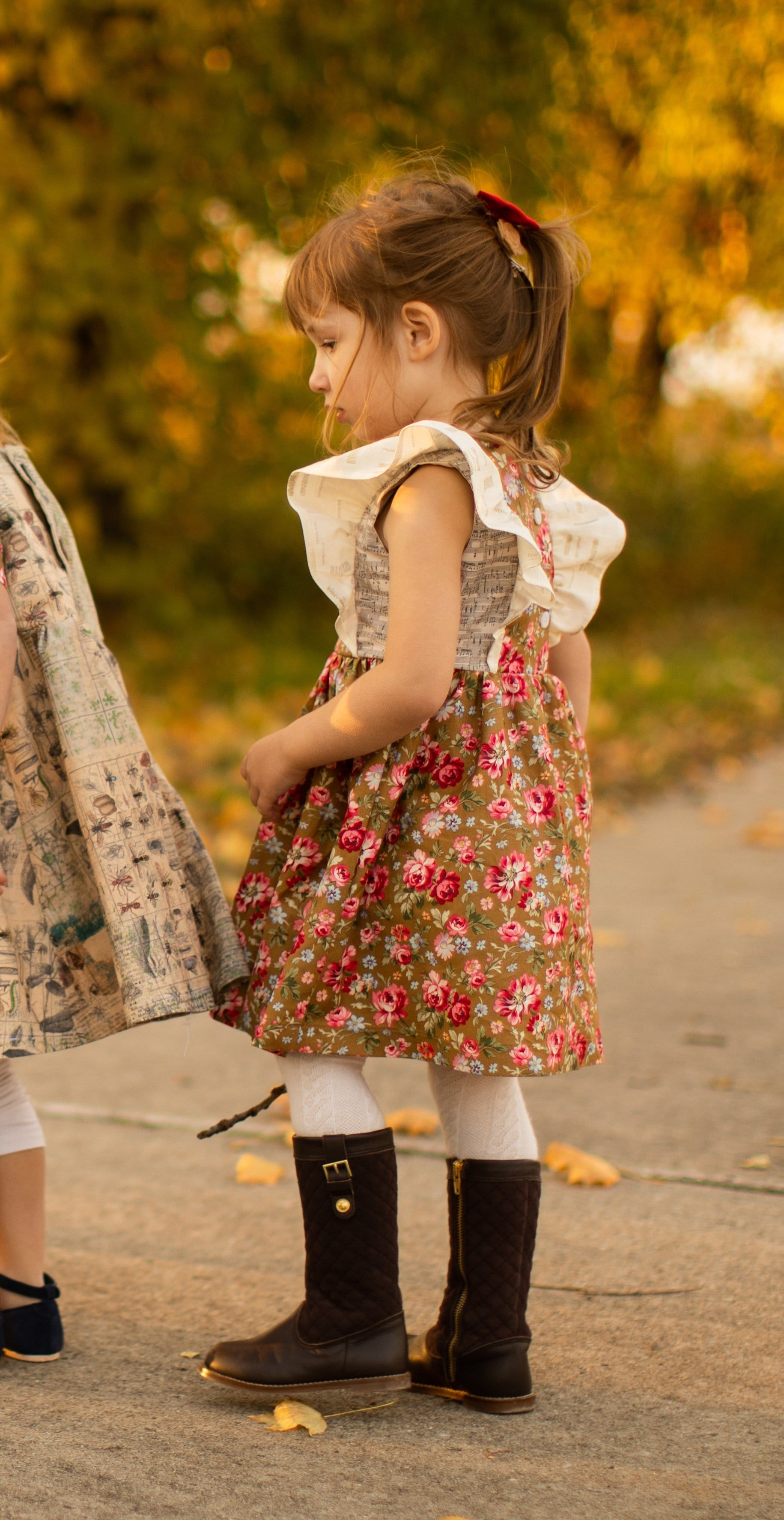 Cotton Pinafore Dress